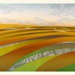 Sarah du Feu Corn And Clouds 2 Wychwood Art