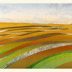 Sarah du Feu Corn And Clouds 3 Wychwood Art