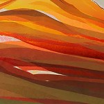 Sarah du Feu Langdale Pikes in the Distance 2 detail 2 Wychwood Art