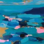 Springtides and Blue Sea 30.5×40.5cm