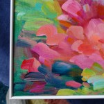 Summerscape Alanna Eakin brushstrokes floral painting