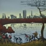 The-Serpentine-Hyde-Park-Autumn-after-Bruegel