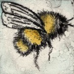 Vicky Oldfield, Buzzing around, Contemporary art, bee picture