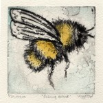 Vicky Oldfield, Buzzing around, Contemporary art, bee picture b