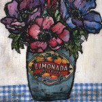 Vicky Oldfield, Fresh Blooms, Wychwood Art, Original Print, Royal Academy Summer Exhibition Artist