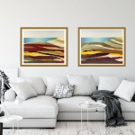 cornwall seascape 1 & 2 in room