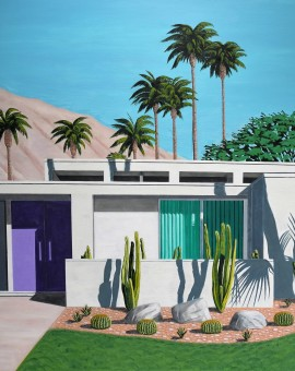 Californian cactus- Purple Door