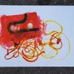 Cassette Red 2, GDobson, screenprint