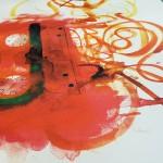 Cassette red 4, GDobson, Screenprint