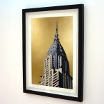 Chrysler Building Framed