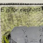 E is for Elephant 4