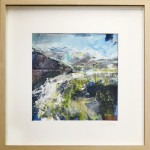 Eleanor Campbell Fairy Pools Skye in frame