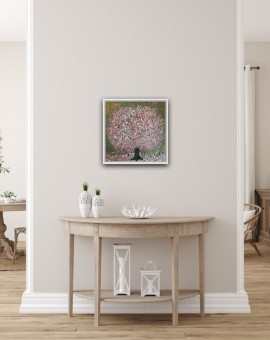 Everlastin Cherry Blossom, Nicky Chubb in situ