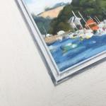 Fiona Carver Yellow Boat in Fowey Wychwood Art