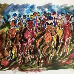 Garth Bayley. The Full Gallop. Wychwood Art. 1