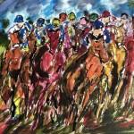 Garth Bayley. The Full Gallop. Wychwood Art. full