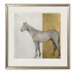 Guy Allen_Equine Gold_78x77cm_framed