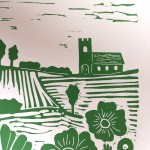 Joanna Padfield Summer Meadow Linocut Print 3