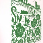 Joanna Padfield Summer Meadow Linocut Print 4