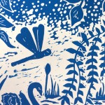 Joanna Padfield Swan Linocut Print 6