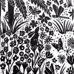 Joanna Padfield Tree Fern Linocut Print 6