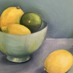 Jonquil Willamson Lemons and Limes close up 2 Wychwood Art
