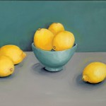 Jonquil Williamson Lemons Canvas Wychwood Art