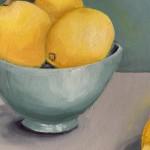Jonquil Williamson Lemons Close Up Wychwood Art