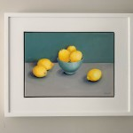 Jonquil Williamson Lemons Framed 1 Wychwood Art