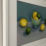 Jonquil Williamson Lemons and Limes side view Wychwood Art