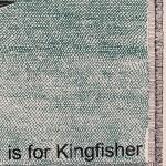 K is for Kingfisher 2