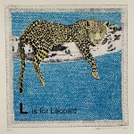 L is for Leopard