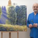 Lee Tiller Artist – Listening to the music of bees – Wychwood Art