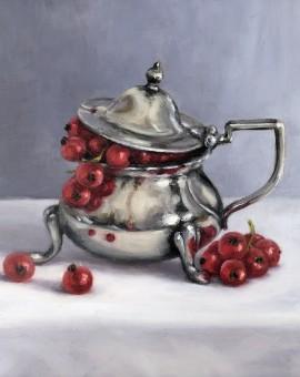 Marie Robinson Currant Pot Wychwood Art_