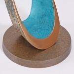 Philip Hearesy Drift Contemporary bronze sculpture…..