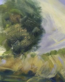 Suzanne Winn Early Autumn Study I Wychwood Art Original Landscape Painting