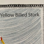 Y is for yellow stork 3