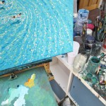 into the blue II. gordon hunt. studio