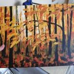 Autumn Woodland Sight held