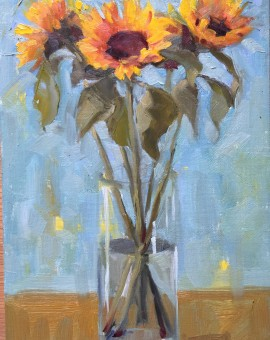 Benedict Flanagan, Sunflower, Still Life 1