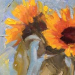 Benedict Flanagan, Sunflower, Still Life 3