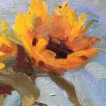 Benedict Flanagan, Sunflower, Still Life 4