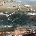 Coastal Shore (Close Up 2 With Signature) Helen Howells