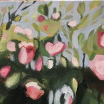 Elaine Kazimierczuk Catching the Sunshine, Hedgerow with Dog Roses, Wychwood Art detail 3