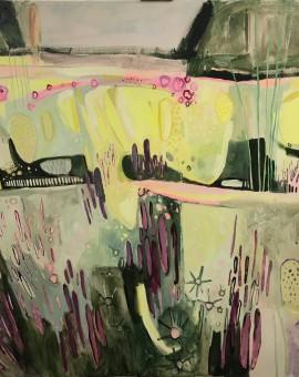 Elaine Kazimierczuk, Large Merton Beds 2, Wychwood Art