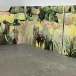 Elaine Kazimierczuk, Large Merton Beds Polyptych Panorama, Wychwood Art