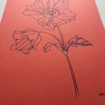 Ellen Williams Anemone I Wychwood Art side view
