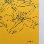 Ellen Williams Clematis III Wychwood Art signature