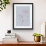 Ellen Williams Poppy II Wychwood Art insitu