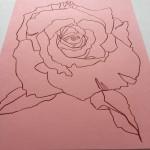 Ellen Williams Rose IX Wychwood Art side view